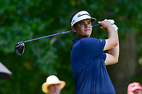 Bethesda, MD - July 1, 2018: Beau Hossler tee's off on the 8th hole during final round of professional play at the Quicken Loans National Tournament at TPC Potomac at Avenel Farm in Bethesda, MD.  (Photo by Phillip Peters/Media Images International)