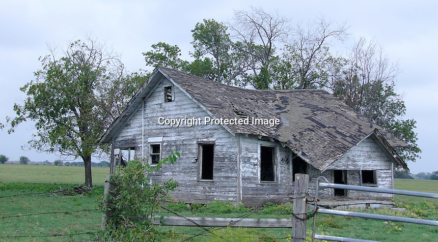 Old North Texas Ranch House