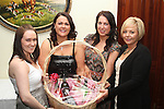 Organisers Paula Dunne, Yvonne Rooney, Lucy Owens and Laura Doherty at the Charity Event in the Boyne Valley Hotel to raise money for Drogheda Womens Refuge, Drogheda Special Needs and ABACAS...(Photo credit should read Jenny Matthews/www.newsfile.ie)....This Picture has been sent you under the conditions enclosed by:.Newsfile Ltd..The Studio,.Millmount Abbey,.Drogheda,.Co Meath..Ireland..Tel: +353(0)41-9871240.Fax: +353(0)41-9871260.GSM: +353(0)86-2500958.email: pictures@newsfile.ie.www.newsfile.ie.