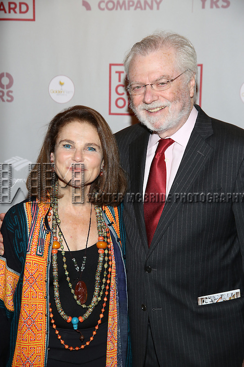 "Tovah Feldshuh and husband, Andrew H. Levy attends the Broadway Opening Night performance press reception for  ""The Cherry Orchard""  at the American Airlines Theatre on October 16, 2016 in New York City."