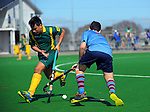 Action from the 2016 Founders Cup boys hockey match between Wanganui BHS and Sacred Heart College at Clareville Twin Turfs, Carterton, New Zealand on Wednesday, 31 August 2016. Photo: Dave Lintott / lintottphoto.co.nz
