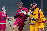 Los Angeles, CA 02/15/14 - Hunter Irvin (Stanford #3) and Nick Hillier (Arizona State #11)