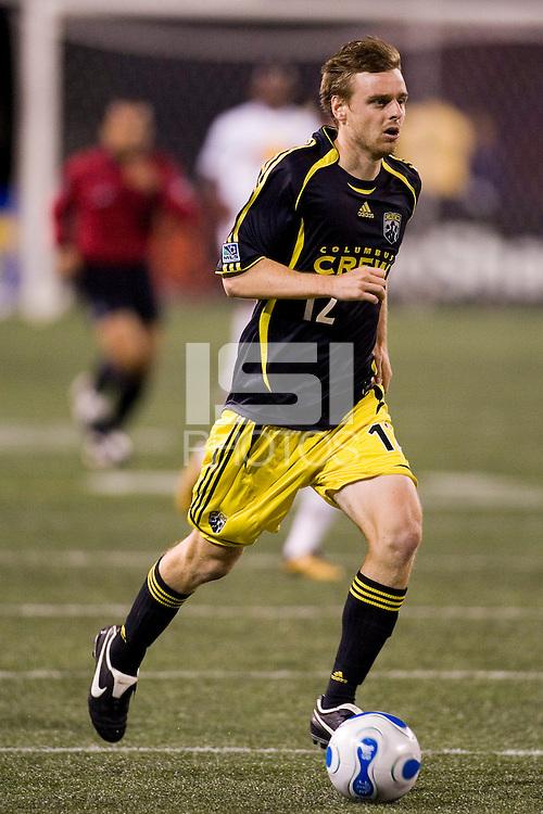 Columbus Crew midfielder (12) Eddie Gaven during an MLS regular season match at Giants Stadium, East Rutherford, NJ, September 16, 2006. The Red Bulls defeated the Crew 1-0.