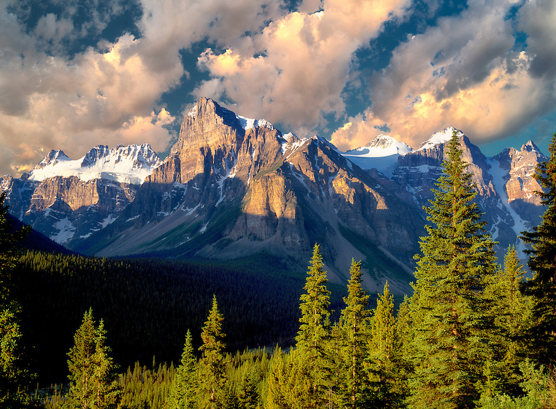 Wenkchemna Peaks. Banff National Park, Canada.