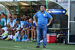 15 July 2015: Cuba head coach Raul Gonzalez Triana (CUB). The Cuba Men's National Team played the Guatemala Men's National Team at Bank of America Stadium in Charlotte, NC in a 2015 CONCACAF Gold Cup Group C match. Cuba won the game 1-0 and advanced to the quarterfinals.