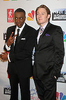 May 21, 2012 Arsenio Hall and Clay Aiken attend the Celebrity Apprentice Finale at the American Museum of Natural History in New York City. © RW/MediaPunch Inc.