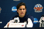 12 December 2014: Virginia's Pablo Aguilar (GUA). The University of Virginia Cavaliers played the University of Maryland Baltimore County Retrievers at WakeMed Stadium in Cary, North Carolina in a 2014 NCAA Division I Men's College Cup semifinal match. Virginia won the game 1-0.