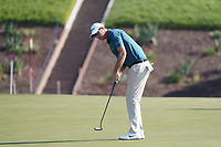 Nicolas Colsaerts (BEL) on the 7th green during the Pro-Am of the Abu Dhabi HSBC Championship 2020 at the Abu Dhabi Golf Club, Abu Dhabi, United Arab Emirates. 15/01/2020<br /> Picture: Golffile | Thos Caffrey<br /> <br /> <br /> All photo usage must carry mandatory copyright credit (© Golffile | Thos Caffrey)