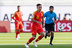 Wu Xi of China in action during the AFC Asian Cup UAE 2019 Group C match between China (CHN) and Kyrgyz Republic (KGZ) at Khalifa Bin Zayed Stadium on 07 January 2019 in Al Ain, United Arab Emirates. Photo by Marcio Rodrigo Machado / Power Sport Images