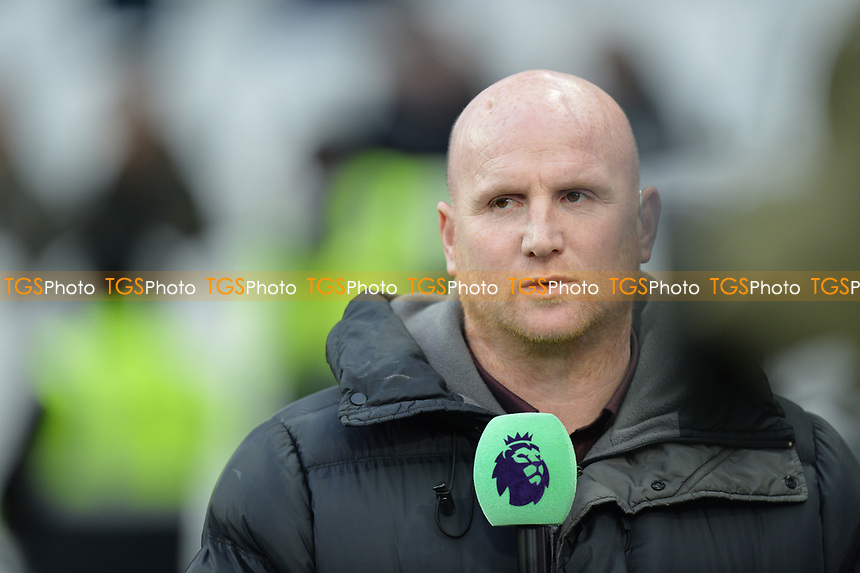 John Hartson during West Ham United vs Arsenal, Premier League Football at The London Stadium on 12th January 2019