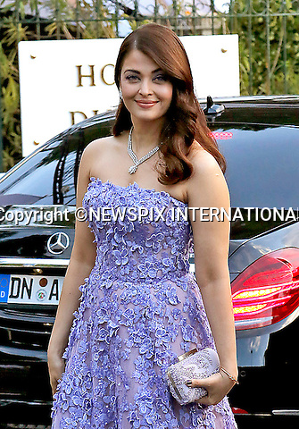 12.05.2015, Antibes; France: AISHWARYA RAI BACHCHAN<br /> attends the Cinema Against AIDS amfAR Gala 2015 held at the Hotel du Cap, Eden Roc in Cap d'Antibes.<br /> MANDATORY PHOTO CREDIT: &copy;Thibault Daliphard/NEWSPIX INTERNATIONAL<br /> <br /> (Failure to credit will incur a surcharge of 100% of reproduction fees)<br /> <br /> **ALL FEES PAYABLE TO: &quot;NEWSPIX  INTERNATIONAL&quot;**<br /> <br /> Newspix International, 31 Chinnery Hill, Bishop's Stortford, ENGLAND CM23 3PS<br /> Tel:+441279 324672<br /> Fax: +441279656877<br /> Mobile:  07775681153<br /> e-mail: info@newspixinternational.co.uk