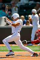 Texas Longhorn Cohl Walla against Nebraska on Sunday March 21st, 2100 at UFCU Dish-Falk Field in Austin, Texas.  (Photo by Andrew Woolley / Four Seam Images)