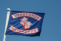 Hereford Cattle society flag<br /> &copy;Tim Scrivener Photographer 07850 303986<br />      ....Covering Agriculture In The UK....