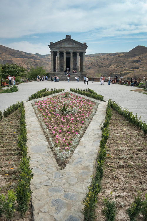 The Temple of Garni is an Ionic temple in Garni, Armenia. It is the best-known structure and symbol of pre-Christian Armenia. It is the only standing Greco-Roman colonnaded building in Armenia and the former Soviet Union.