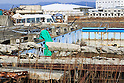 Rubble still cover the ground of the Kesennuma Koyo High School five years after the 2011 Tohoku Earthquake and Tsunami on February 9, 2016 in Miyagi Prefecture, Japan. School lessons have been taking place at temporary facilities further inland for the past five years and the old buildings remain as they were after the disaster struck. Over 1000 residents of the fishing town lost their lives in the disaster and although some rebuilding has taken place there is still much work to do to rehouse people still living in some 2000 temporary homes and to clear all of the rubble. (Photo by Rodrigo Reyes Marin/AFLO)