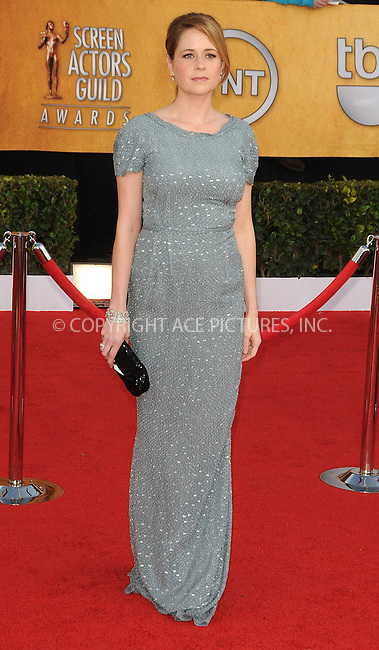 WWW.ACEPIXS.COM . . . . . ....January 30 2011, Los Angeles....Jenna Fischer arriving at the 17th Annual Screen Actors Guild Awards held at The Shrine Auditorium on January 30, 2011 in Los Angeles, CA....Please byline: PETER WEST - ACEPIXS.COM....Ace Pictures, Inc:  ..(212) 243-8787 or (646) 679 0430..e-mail: picturedesk@acepixs.com..web: http://www.acepixs.com