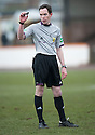 Referee Colin Steven.