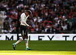 Tottenham's Dele Alli looks on dejected as he is substituted during the pre season match at Wembley Stadium, London. Picture date 5th August 2017. Picture credit should read: David Klein/Sportimage
