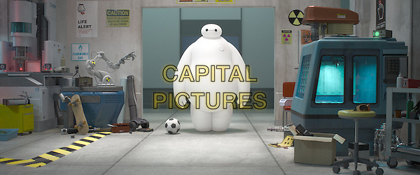 Baymax (voice of Scott Adsit)<br /> in Big Hero 6 (2014) <br /> *Filmstill - Editorial Use Only*<br /> CAP/NFS<br /> Image supplied by Capital Pictures