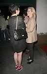 April 24th 2012 ..Elizabeth Banks talking with Ginnifer Goodwin  & husband Max Handelman dine at Madeos in West Hollywood..www.AbilityFilms.com.805-427-3519.AbilityFilms@yahoo.com.