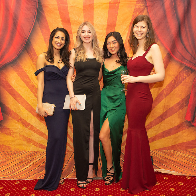 An image from the UCLAN Dental Ball at Farington Lodge Hotel on Friday 29th March 2019