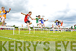 Action from the Denny County Community Games in An Riocht Castleisland on Sunday