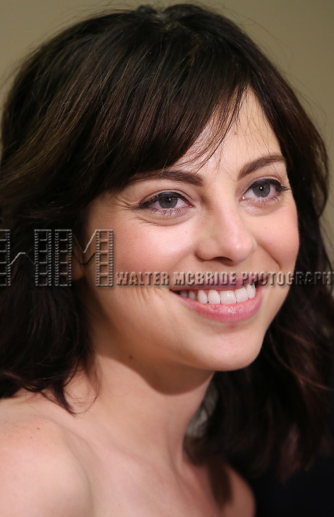 Krysta Rodriguez attends the WP Theater production of 'What We're Up Against' Photo Calll at WP Theater Office on October 5, 2017 in New York City.