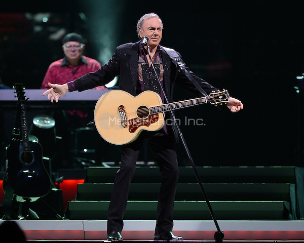 SUNRISE, FL - JUNE 1 : Neil Diamond performs at the BankAtlantic Center on June 1, 2012 in Sunrise Florida. Credit MediaPunch Inc.