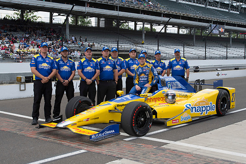 21-22 May, 2016, Indianapolis, Indiana, USA<br /> Marco Andretti qualifying photo<br /> ©2016, Geoffrey M. Miller, LAT Photo USA