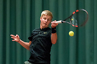 Wateringen, The Netherlands, March 16, 2018,  De Rhijenhof , NOJK 14/18 years, Nat. Junior Tennis Champ.  Max Houkes (NED)<br />  Photo: www.tennisimages.com/Henk Koster