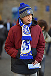 Chelsea fans make there way to the stadium before the start of the Premier League match at Stamford Bridge, London. Picture date: 30th November 2019. Picture credit should read: Robin Parker/Sportimage