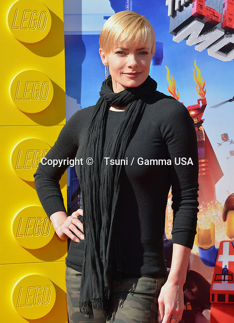 Jaime Pressly 139- arriving at The Lego Movie Premiere at the Westwood Village Theatre in Los Angeles.