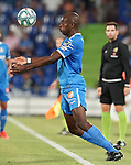 Getafe CF's Allan Nyom during friendly match. August 10,2019. (ALTERPHOTOS/Acero)