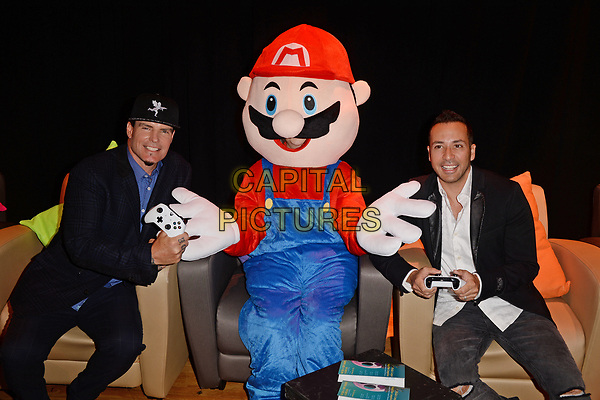 BOCA RATON - APRIL 06: Vanilla Ice and Howie Dorough attend The Student Showcase of Films during The Palm Beach International Film Festival held at Lynn University on April 6, 2018 in Boca Raton, Florida.  <br /> CAP/MPI/04<br /> &copy;04/MPI/Capital Pictures