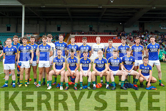 Kerry team photo. All Ireland Junior Championship Semi-Final, Kerry V Leitrim. 22/07/2017. Gaelic Grounds, Limerick, Co Limerick. Credit: Conor Wyse