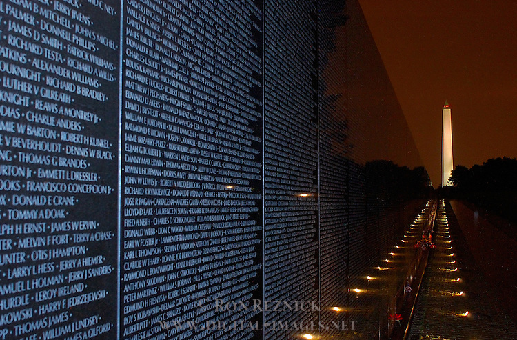 Vietnam Veterans Memorial, Maya Lin 1982, National Mall, Washington DC