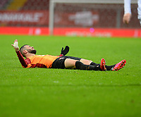 15th March 2020, Istanbul, Turkey;   Omer Bayram of Galatasaray during the Turkish Super league football match between Galatasaray and Besiktas at Turk Telkom Stadium in Istanbul , Turkey on March 15 , 2020.