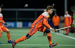 AMSTELVEEN - Sander de Wijn (Ned)   tijdens de hockeyinterland Nederland-Ierland (7-1) , naar aanloop van het WK hockey in India.COPYRIGHT KOEN SUYK