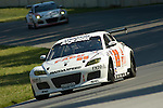 20 June 2008: The SpeedSource Mazda RX-8 driven by Emil Assentato and Jeff Segal at the Rolex Sports Car Series Emco Gears Classic, Mid-Ohio Sports Car Course, Lexington, Ohio, USA.