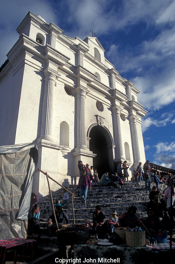 The Church of Santo Tomas in Cichicastenango, Guatemala