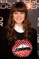 Actress Hailee Steinfeld poses during a photocall for the film Ender's Game in Madrid on October 3, 2013. (ALTERPHOTOS/Victor Blanco)