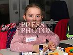 Ciara at Drogheda Library's winter arts and crafts workshop.<br /> <br /> Photo - Jenny Matthews
