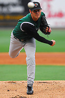 6 May 2007: Adam Cowart from a game between the Augusta GreenJackets, Class A South Atlantic League affiliate of the San Francisco Giants, and the Greenville Drive at West End Field in Greenville, S.C. Photo by:  Tom Priddy/Four Seam Images