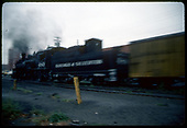 Blurred photo of D&amp;SNG #480 in Durango.<br /> D&amp;SNG  Durango, CO  Taken by Dorman, Richard L.