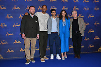 Guy Ritchie, Will Smith, Mena Massoud, Naomi Scott and Alan Menken<br /> at 'Aladdin' film photocall with the cast at the Rosewood Hotel, London, England on May 10, 2019<br /> CAP/JOR<br /> &copy;JOR/Capital Pictures