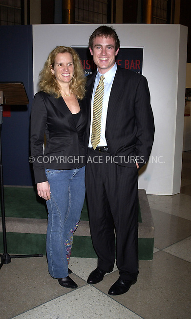 WWW.ACEPIXS.COM . . . . . ....NEW YORK, MARCH 23, 2005....Kerry Kennedy and Matt Kennedy at the international premiere of the photo exhibit 'Raising the Bar: New Horizons in Disability Sports' held in the United Nations Lobby.....Please byline: KRISTIN CALLAHAN - ACE PICTURES.. . . . . . ..Ace Pictures, Inc:  ..Craig Ashby (212) 243-8787..e-mail: picturedesk@acepixs.com..web: http://www.acepixs.com