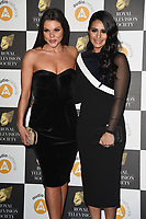 Faye Brookes and Saira Khan<br /> arriving for the RTS Awards 2019 at the Grosvenor House Hotel, London<br /> <br /> ©Ash Knotek  D3489  19/03/2019