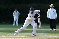 Jonathan Das in batting action for Wanstead during Brentwood CC vs Wanstead and Snaresbrook CC, Essex Cricket League Cricket at The Old County Ground on 12th September 2020