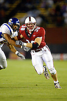 Jake Covault during Stanford's 63-26 win over San Jose State on September 14, 2002 at Stanford Stadium.<br />Photo credit mandatory: Gonzalesphoto.com