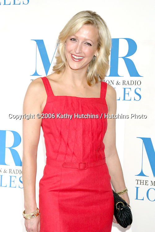 Lara Spencer.Museum of TV & Radio Annual Gala IHO Les Moonves and Jerry Bruckheimer.Regent Beverly Wilshire Hotel.Beverly Hills, CA.October 30, 2006.©2006 Kathy Hutchins / Hutchins Photo....